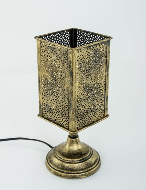 Tafellampje-brons-oosters-landelijk