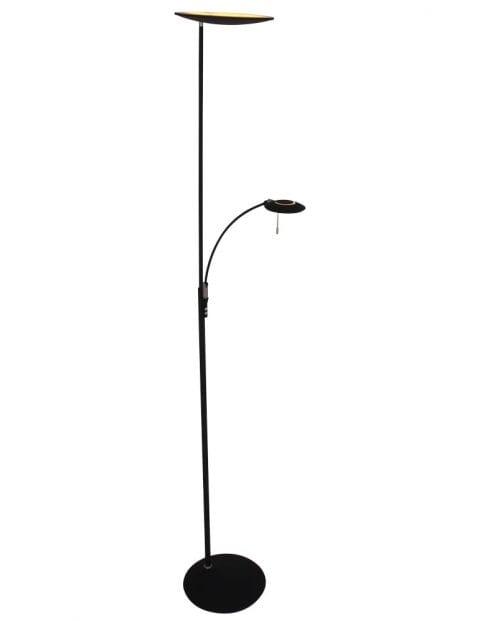 Vloerlamp-zwart