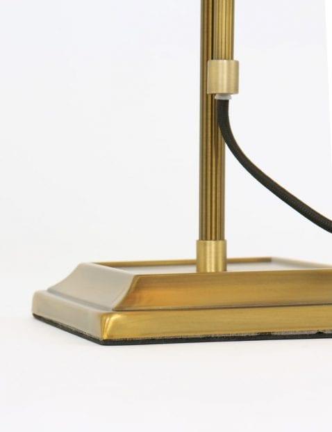 Voet-bronze-vloerlamp