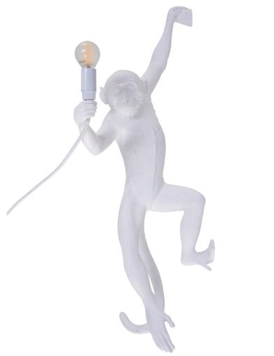 Witte-wandlamp-aap-seletti