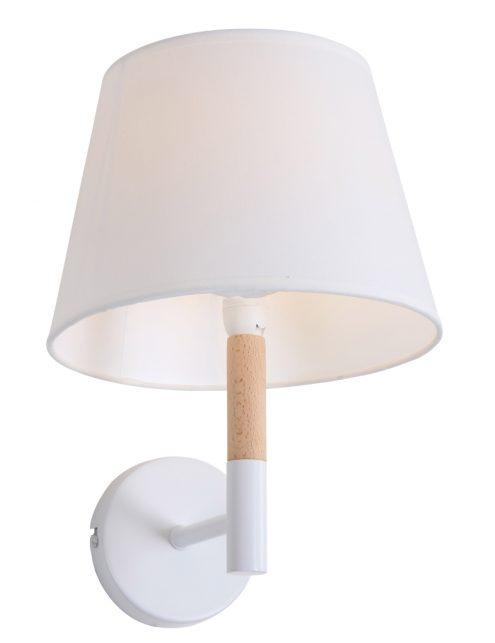 Witte-wandlamp-met-houten-detail