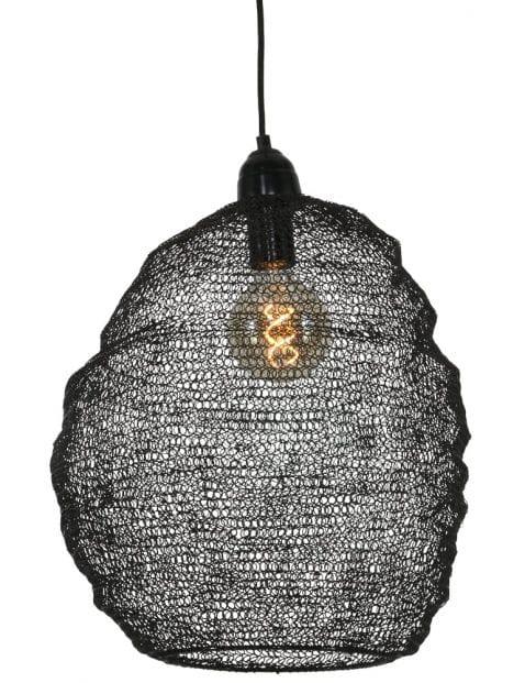 Zwarte-gaaslamp-hanglamp