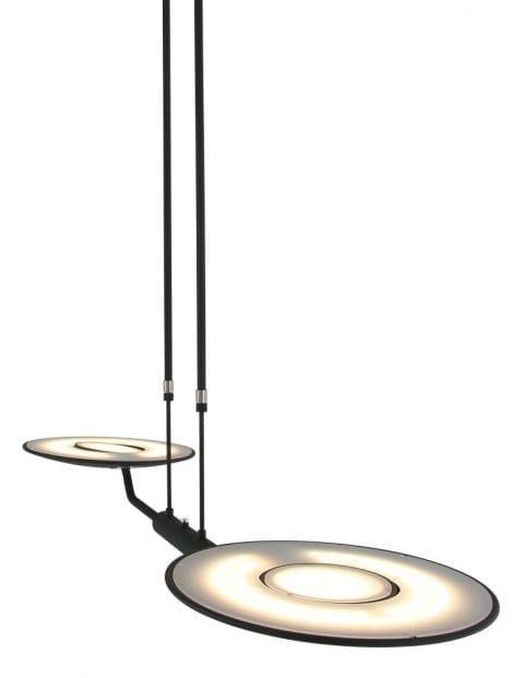 Zwarte-hanglamp-tweelichts