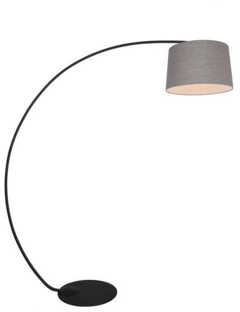 booglamp met grijze kap