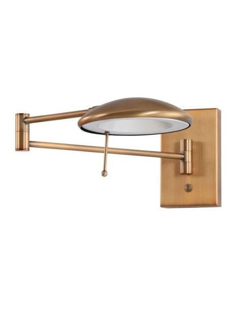 bronzen-wandlamp