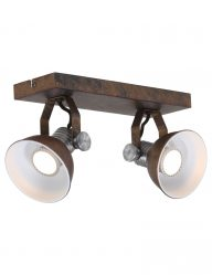 bronze-plafondlamp