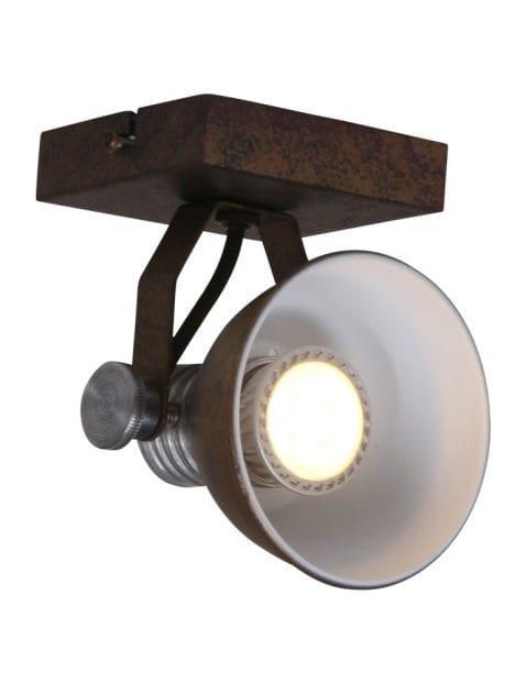 bronzen-plafondlamp