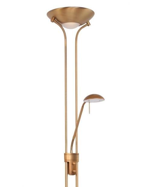 bronzen-vloerlamp-uplight-leesarm