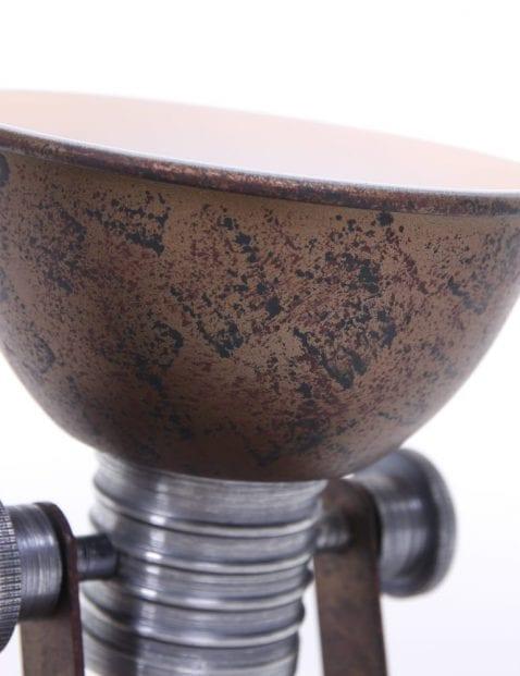 bruine-lamp
