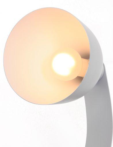 grijze bureaulamp