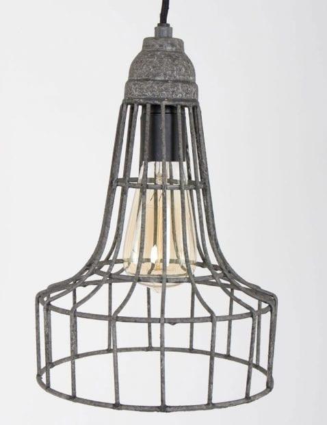 grijze draadlamp