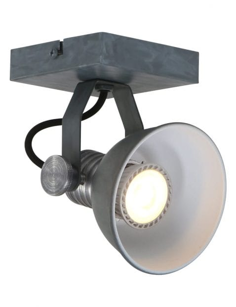 Industriële LED plafondspot Steinhauer Brooklyn grijs