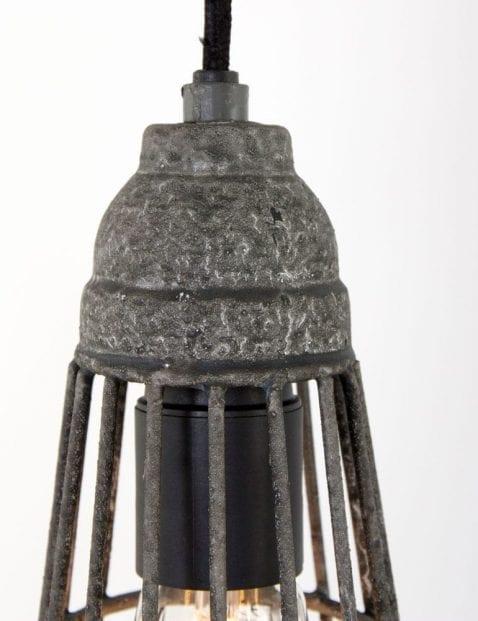 hanglamp grijs metaal
