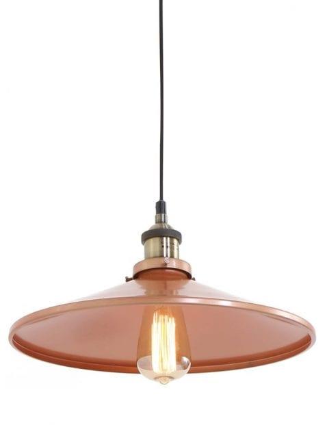 industriële landelijke bruine hanglamp