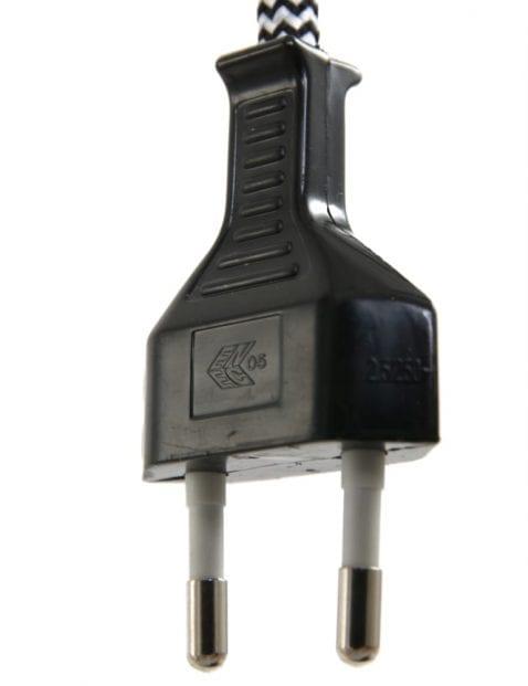 industrieel tafellampje grijs