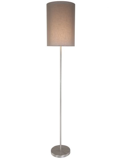 landelijke-vloerlamp-lichtbruine-kap