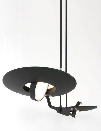 led stalen hanglamp