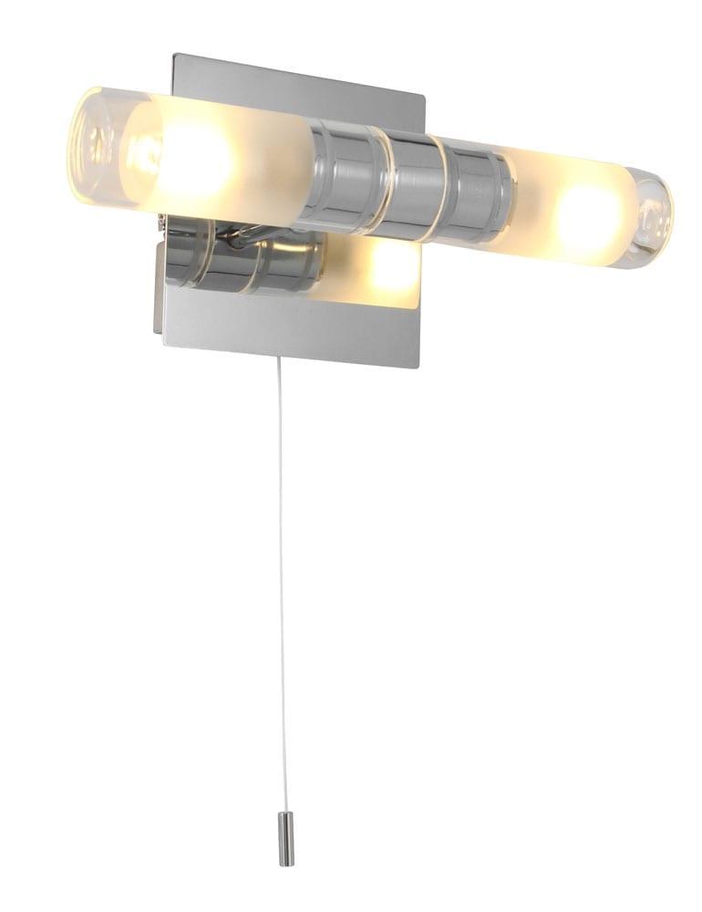 badkamer wandlamp steinhauer ceiling and wall led chroom
