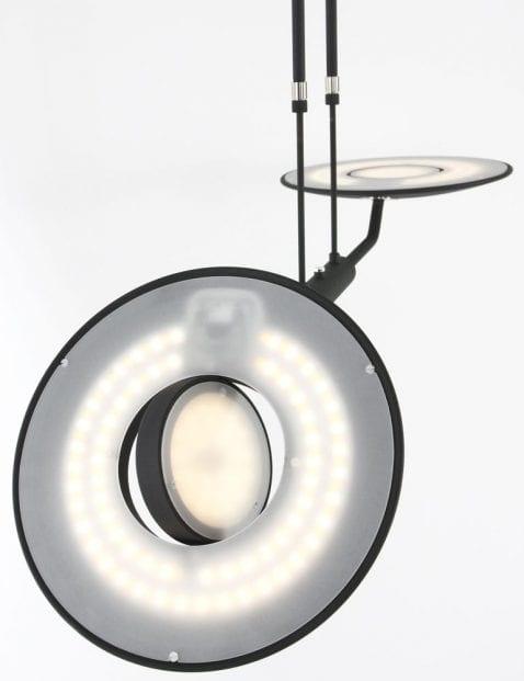 led zwarte hanglamp