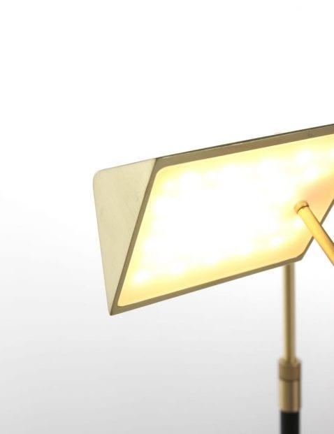 messing led leeslamp