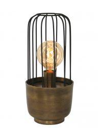 metalen stoere tafellamp