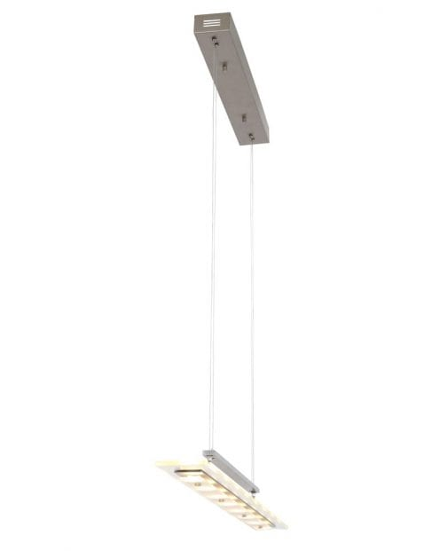 moderne stalen hanglamp