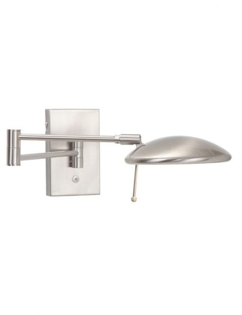 moderne stalen led leeslamp