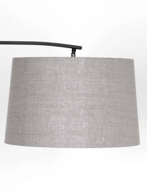moderne vloerlamp met grijze kap