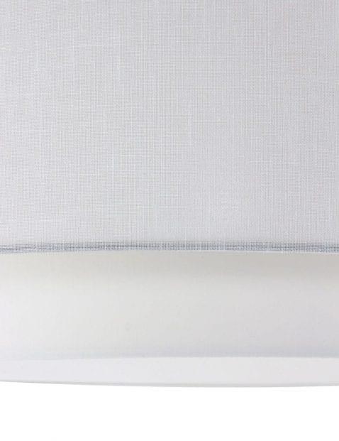 moderne witte plafonnière