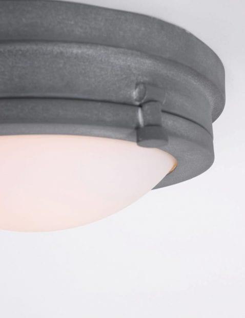 plafondlamp grijs