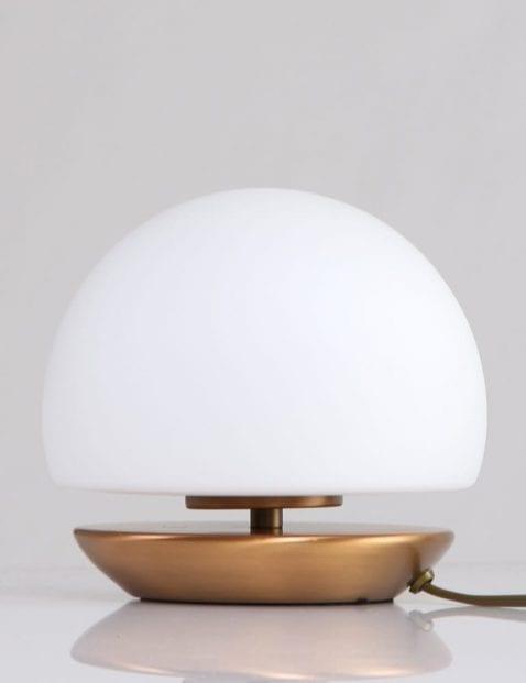 ronde-bedlamp-klassiek-brons