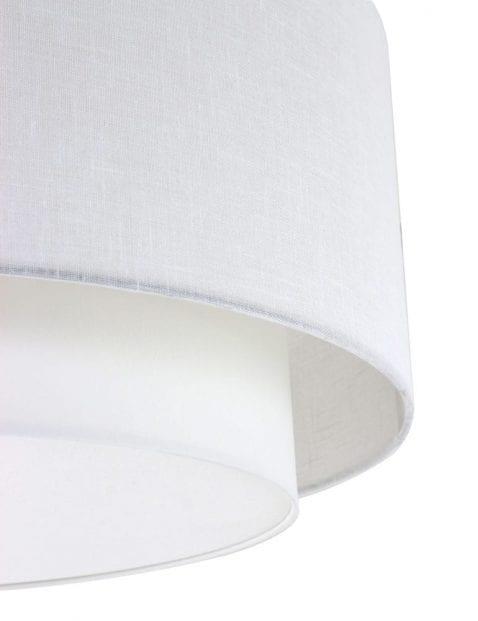 ronde witte plafondlamp