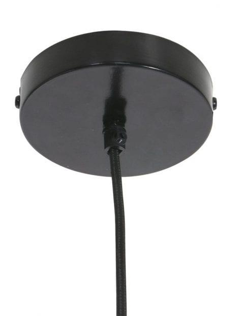 sfeervolle hanglamp van gaas