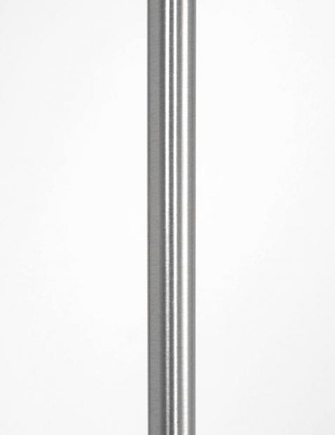 staal led vloerlamp