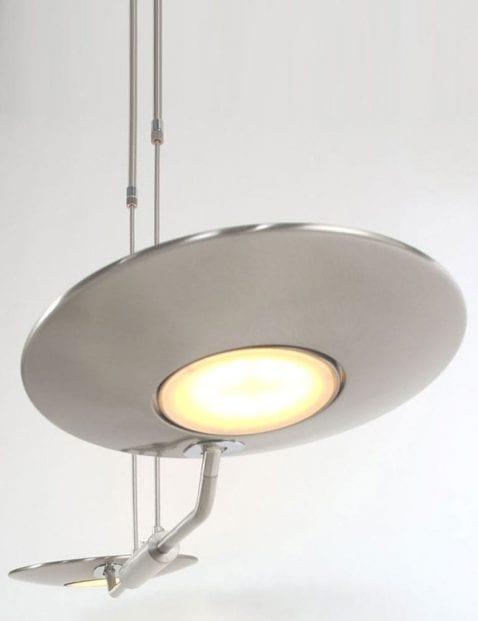 stalen hanglamp met ledlampen