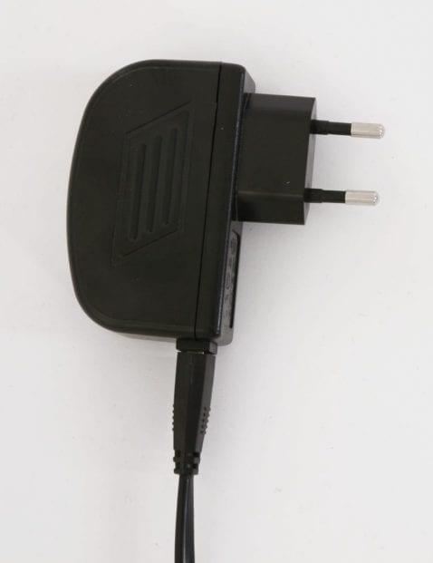 stekker voor zwarte led leeslamp