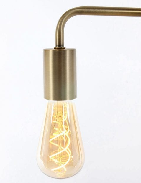 tafellamp brons