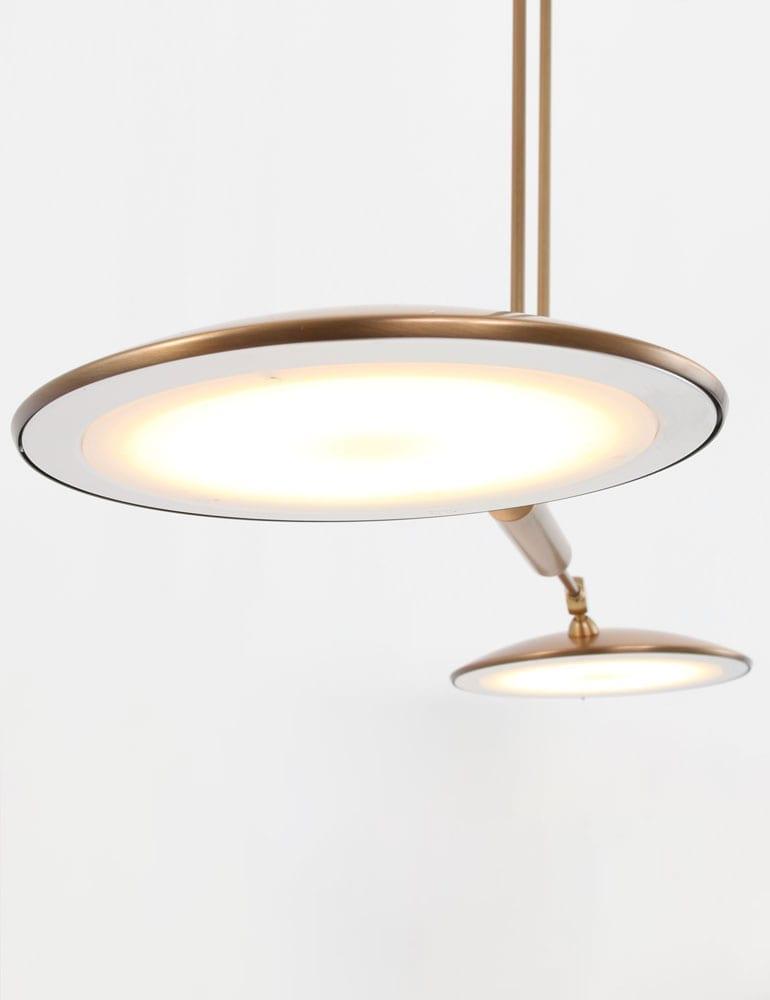 Klassieke hanglamp steinhauer nadir led bronskleurig for Klassieke hanglamp