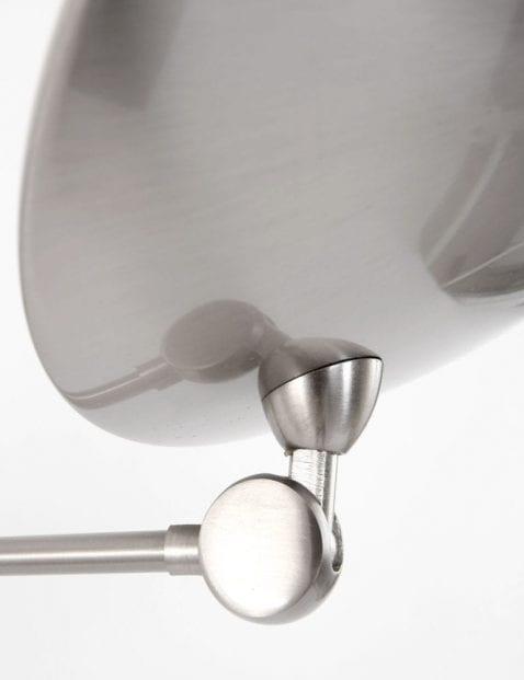 verstelbaar stalen hanglamp