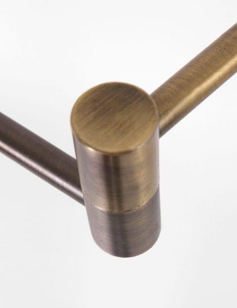 verstelbare bronzen leeslap