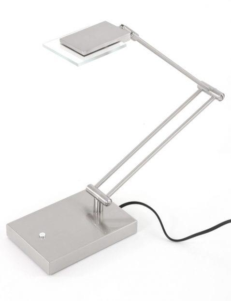 verstelbare stalen bureaulamp