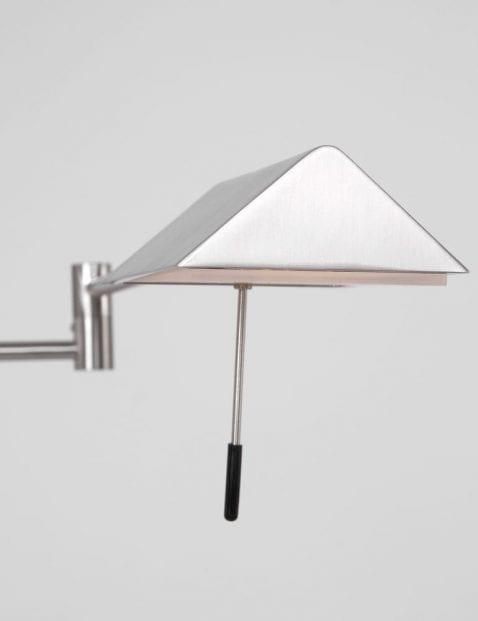 verstelbare stalen leeslamp