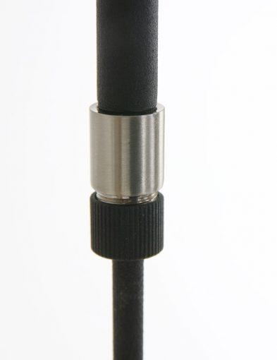 verstelbare zwarte led hanglamp