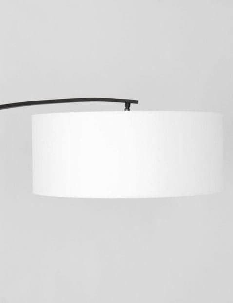 vloerlamp booglamp witte kap