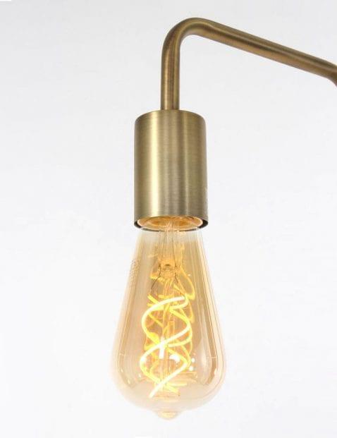 vloerlamp brons