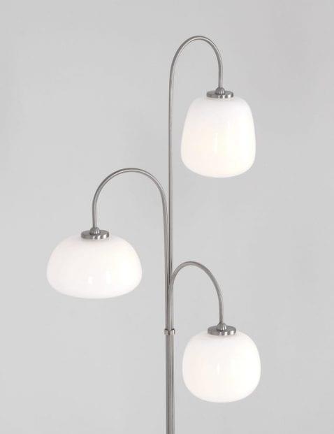 vloerlamp met verschillende bollen