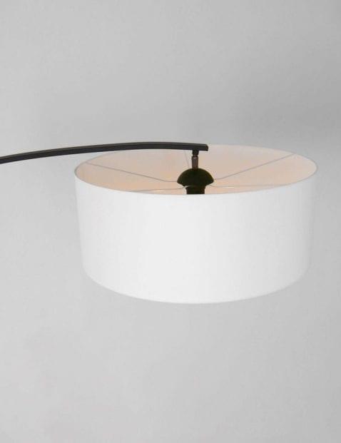 witte kap aan booglamp