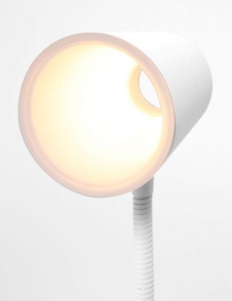 witte led bureaulamp