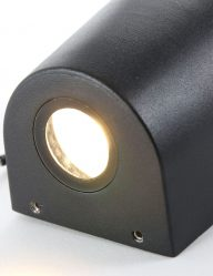 zwarte buitenwandlamp