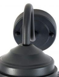 zwarte tuinlamp